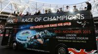 Představení jezdců na Race of champions