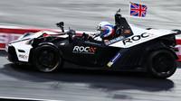 Jolyon Palmer při Race of champions