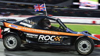 Jenson Button při Race of champions