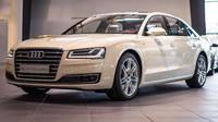 Audi vyzývá Mercedes a BMW, chce mít u A8 nejlepší podvozek v segmentu - anotačno foto