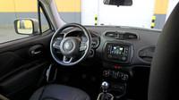 Vpředu je dodávka nerozeznatelná od klasického SUV, Jeep Renegade Van.
