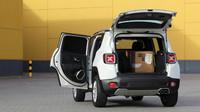 1500 litrů objemu a až 605 kilogramů užitečné hmotnosti, Jeep Renegade Van.