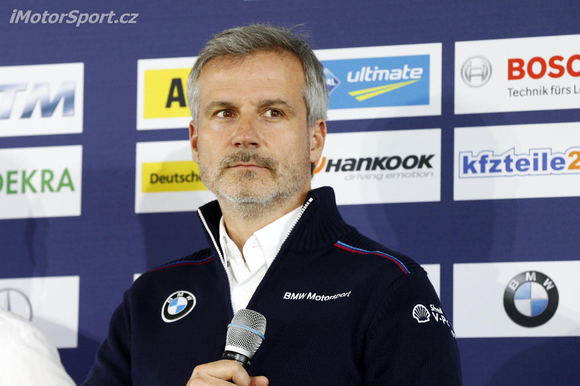 Jens Marquard si zákaznické týmy v DTM představit umí