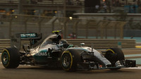 Nico Rosberg v Abú Zabí