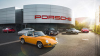 Porsche otevřelo v Nizozemsku první showroom s klasickými modely - anotační foto
