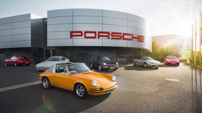Youngtimery značky Porsche patří mezi vyhledávané klasiky