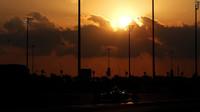Západ slunce v Abú Zabí