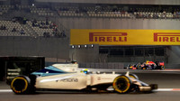 Felipe Massa, vzadu Daniil Kvjat