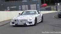 VIDEO: Brutální Mercedes-AMG GT R přistižen při testech! - anotační foto