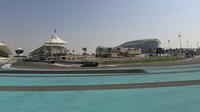 Trať při Pirelli testech v Abú Zabí