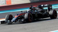Stoffel Vandoorne - nejrychlejší muž testů Pirelli v Abú Zabí