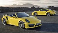 Ve verzi kupé i kabriolet, Porsche 911 Turbo S.