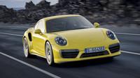 Nový je také nárazník vpředu, Porsche 911 Turbo S.