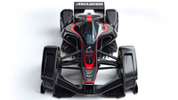 McLaren MP4-X - futuristický vůz zepředu