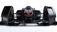 McLaren MP4-X - aktivní aerodynamika s elektronicky ovládanými povrchy