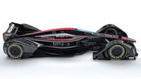 McLaren MP4-X - boční pohled