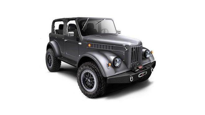 Vyrobeno bude jen dvanáct kusů, GAZ 69 HEMI.