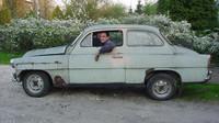 Škoda Octavia z roku 1962 dostala osmiválec z BMW 540i