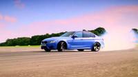 BMW M3 na testovací dráze Top Gearu