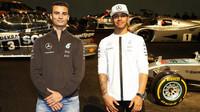 FOTO: Stars & Cars - Hamilton, Rosberg, Schumacher a další hvězdy Mercedesu v akci