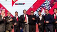 Tým Ferrari v Maranello