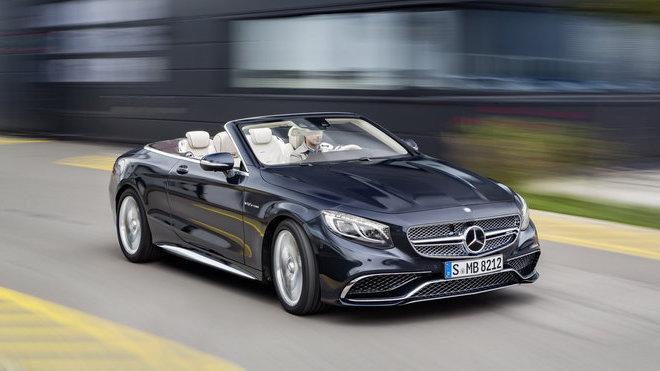 To nejluxusnější, co dokáže AMG nabídnout, Mercedes-AMG S 65 Cabriolet.