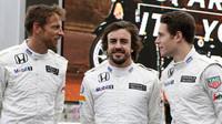 Trojice jezdců McLarenu