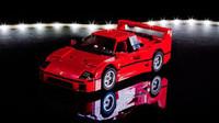 Složené Lego Ferrari F40, prodává se i v Česku