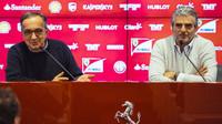 Prezident Ferrari Marchionne vztyčil varovný prst - anotační foto