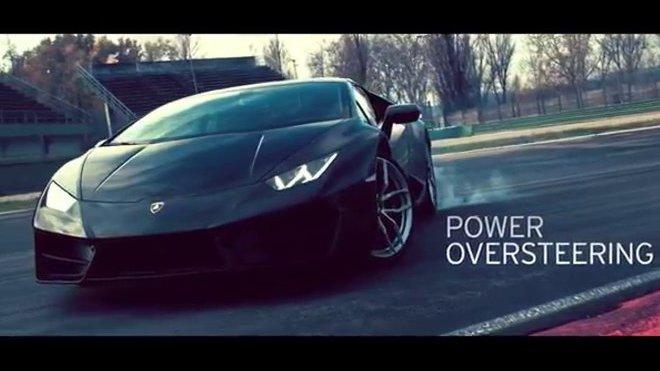 Lamborghini Huracán LP580-2 se prohání na okruhu v Imole