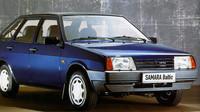 Levnější provedení poznáte podle nelakovaných nárazníků, Lada Samara Baltic L.