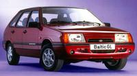 Nárazník byl po vzoru tehdejší módy zaoblený, Lada Samara Baltic GL.