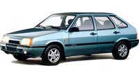 Celkově byla EuroSamara luxusnější a pohlednější, Lada Samara Baltic GL.