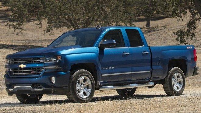 2. místo - Chevrolet Silverado