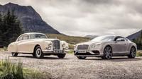 Setkání moderny a klasiky, Bentley Continental GT Speed po boku stejnojmenného průkopníka - anotační obrázek