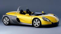 V devadesátých letech vznikl lehoučký a rychlý Renault Sport Spider.