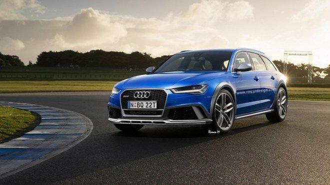 Audi RS6 Allroad od RM Design
