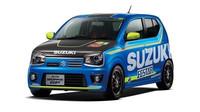 Suzuki Alto Works GP odkazuje na závodní tým v MotoGP.