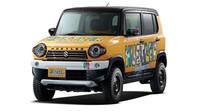 Suzuki Hustler Rough Road Style je určeno na volnočasové aktivity ve větším terénu.