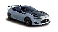 Karosérii zdobí několik dílu z karbonem vyztužených plastů, Toyota 86 GRMN.