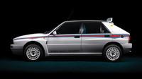 Unikátní Delta HF Integrale Evo 1 Martini 6 se bude dražit v únorové aukci