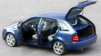 I přes sportovní ambice zůstalo kombi i nadále prostorné, Škoda Fabia Paris.
