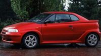 Na první pohled jde o dynamické kupé, Fiat Punto Racer