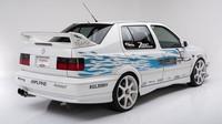 Na vozu jsou také identické polepy jako ve filmu, Volkswagen Jetta by Jesse