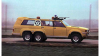 Šestikolový speciál na lov si objednal saúdskoarabský král, Sbarro Windhawk.
