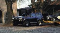 Díky světlé výšce i pneumatikám projelo auto skoro všechno, Sbarro Windhound.