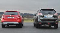 Škoda Octavia Scout a Nissan X-trail