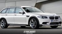 Fiktivní podoba BMW M5 xDrive Touring