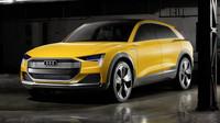 Audi h-tron quattro je posledním vývojovým stupněm německé automobilky.