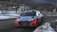 Neuville je se ziskem podia při premiéře nové i20 WRC velmi spokojen - anotační obrázek